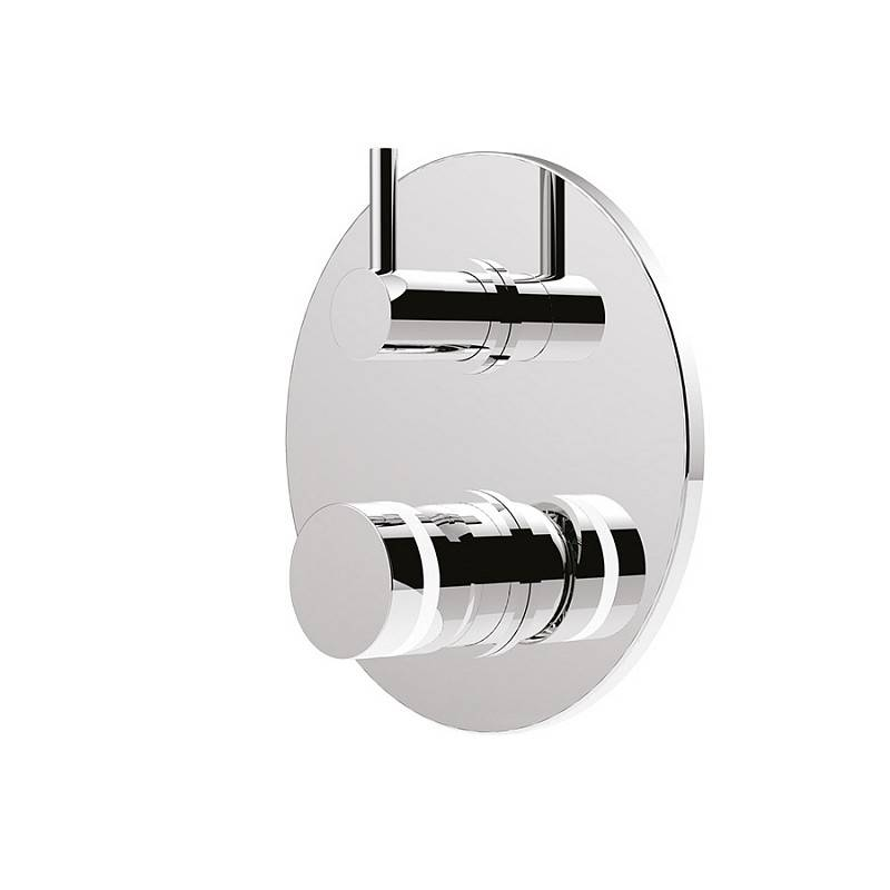 Giulini G.Rubinetteria Mitigeur de douche intégré avec déviateur My Ring - chrome