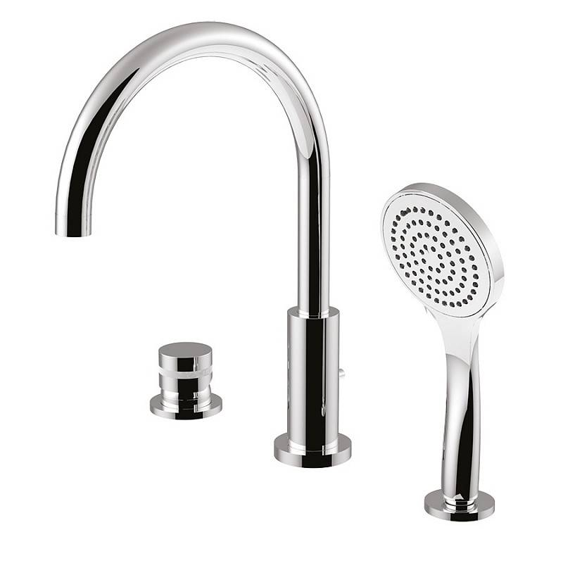 Giulini G.Rubinetteria My Ring Tub Edge Mixer - Fini du robinet: chrome