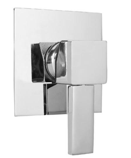 Bugnatese Mitigeur de douche intégré - Chrome poli