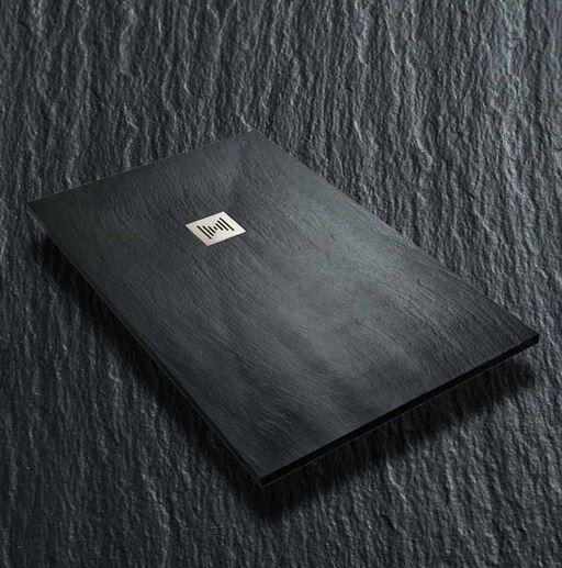 Thermodesign Receveur de douche Mythos Ardesia 170x90 - ciment