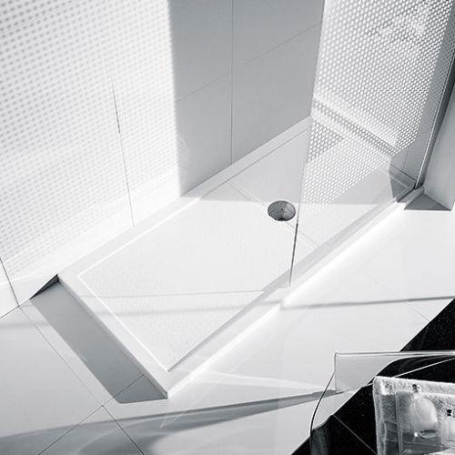 Novellini Receveur de Douche 140x80 Olympic Plus Glossy White - H 12,5