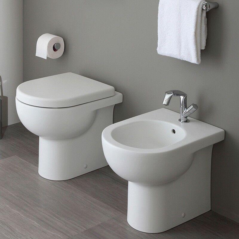 Flaminia WC Quick Plus Goclean - Ralentissement du siège mince qkcw05