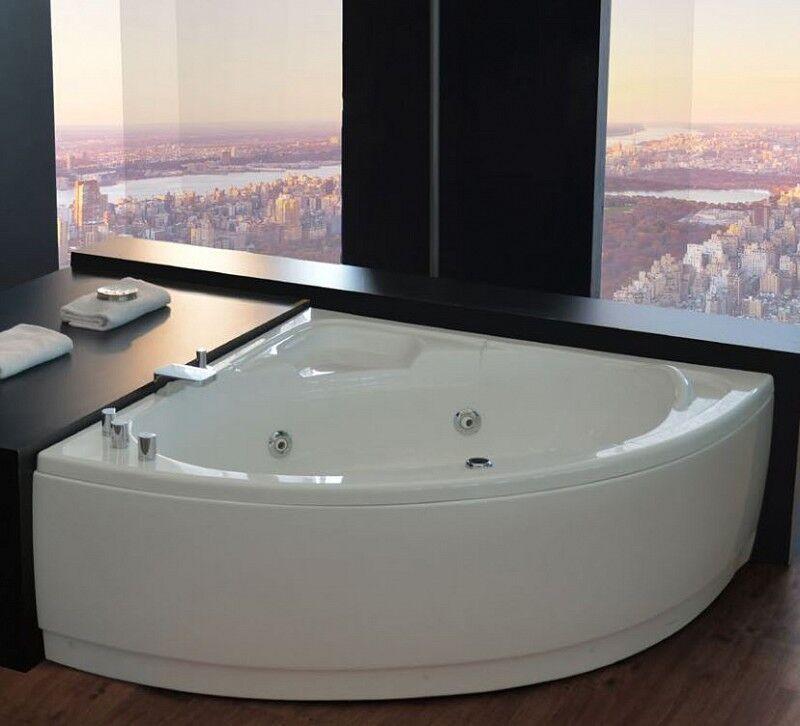 Blue Emotion Sfiziosa Hot Tub 120x120 - TAPS: SANS ROBINET - Color Therapy: Avec chromothérap