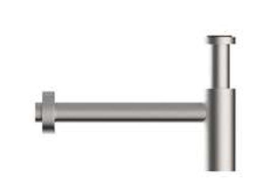 Zazzeri Siphon d'inspection à bouteille pour lavabo Z316 ACIER INOX