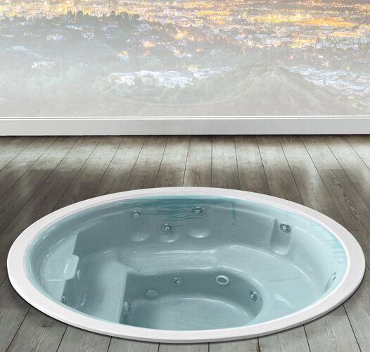 Busco Hydromassage pour mini spa d'extérieur 'SPA 190' - Couleur: bleu - Color Therapy