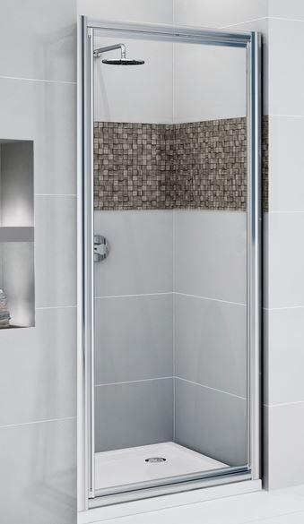 Novellini Boîte de douche Star G 70 à porte battante 1 - blanc - acrylique