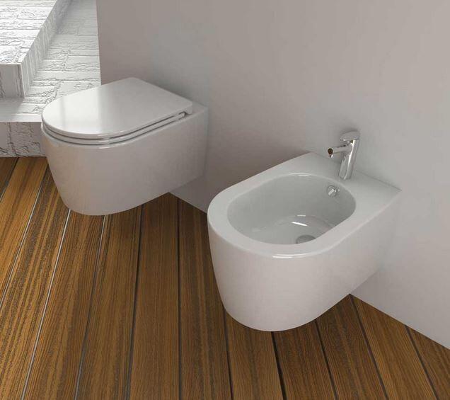 Opera Sanitari Toilette Aida suspendue - Slow Motion Snug Seat