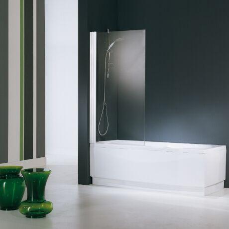 Novellini Aurora Sopravasca Coffret 1 en Cristal 80 cm - mesurage: 80x150H - profil: blanc
