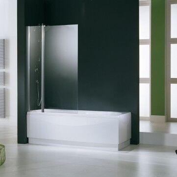 Novellini Aurora 3 Crystal Cover Box 98 cm - profil: blanc