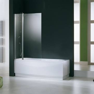Novellini Aurora 3 Crystal Cover Box 98 cm - blanc