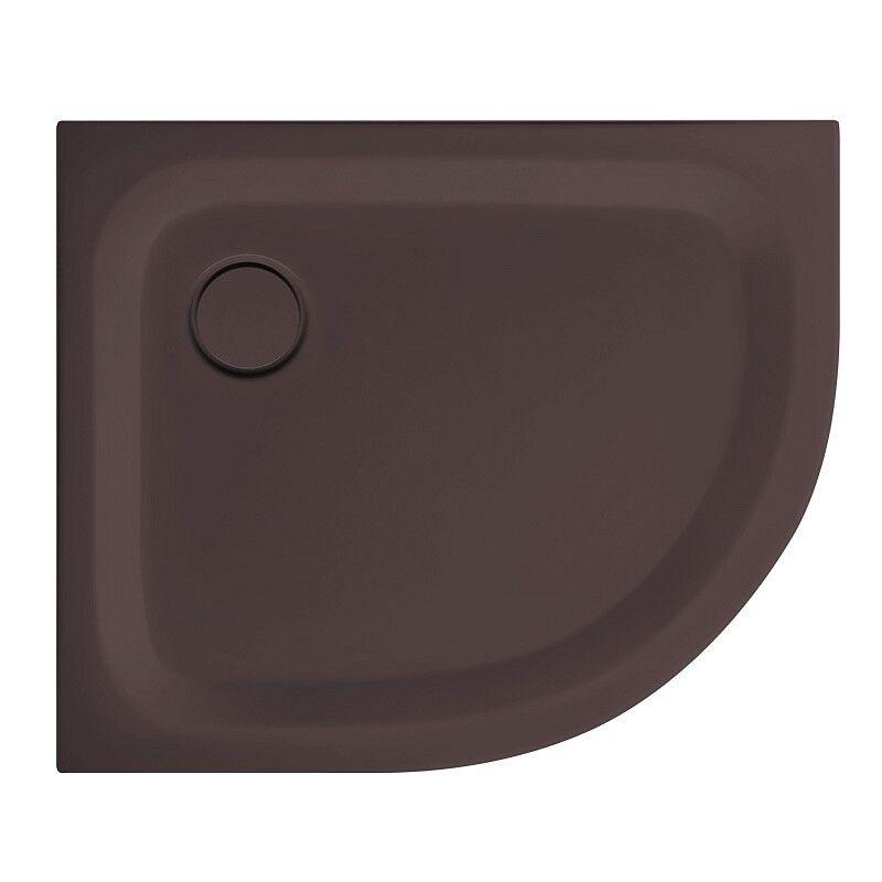 Bette Receveur de douche BetteCorner 35MM 100x80 en 22 couleurs - Couleur: Cacao 439