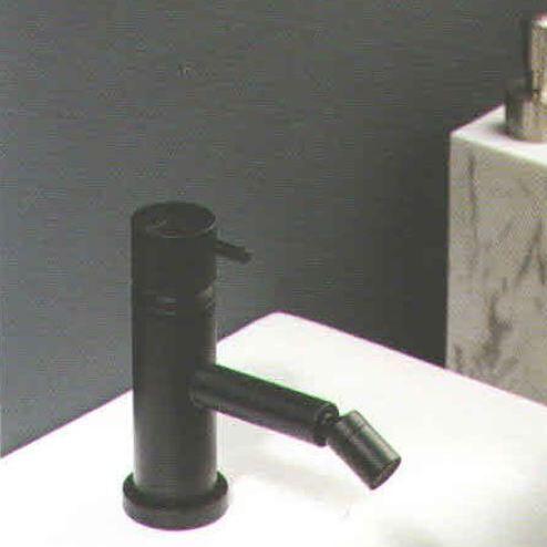 Ritmonio Mélangeur bidet Diameter35 noir - Avec drain E0BA0120LC03
