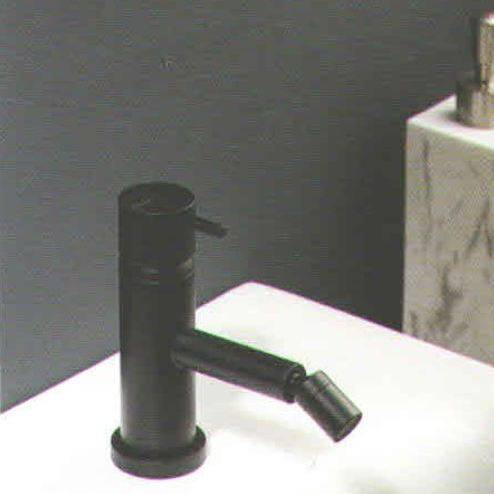 Ritmonio Mélangeur bidet Diameter35 noir - Sans drain E0BA0122LC03