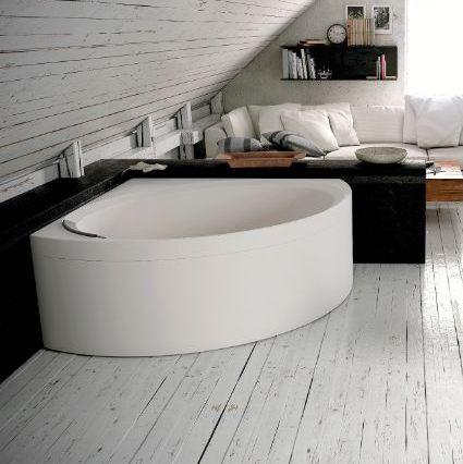 Novellini Divina Bath C 140x140 Sans Hydromassage - Blanc doux - SANS ROBINET - grain