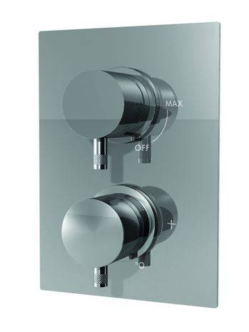 Ritmonio Mitigeur thermostatique de douche 2/3 sorties Diametro35