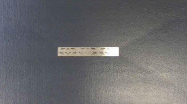 Thermodesign Receveur de douche Focus Quartz 130x90 - chocolat