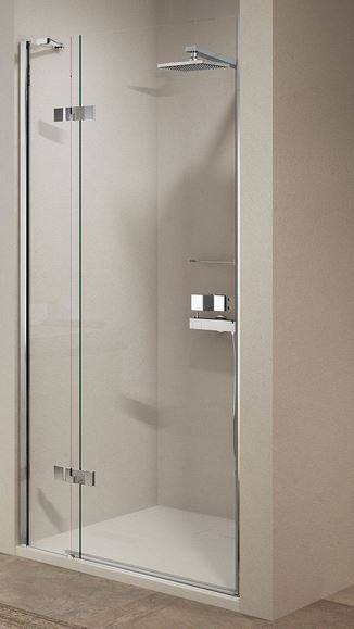 Novellini Porte de douche avec 1 porte battante Gala 1B 80 - gauche
