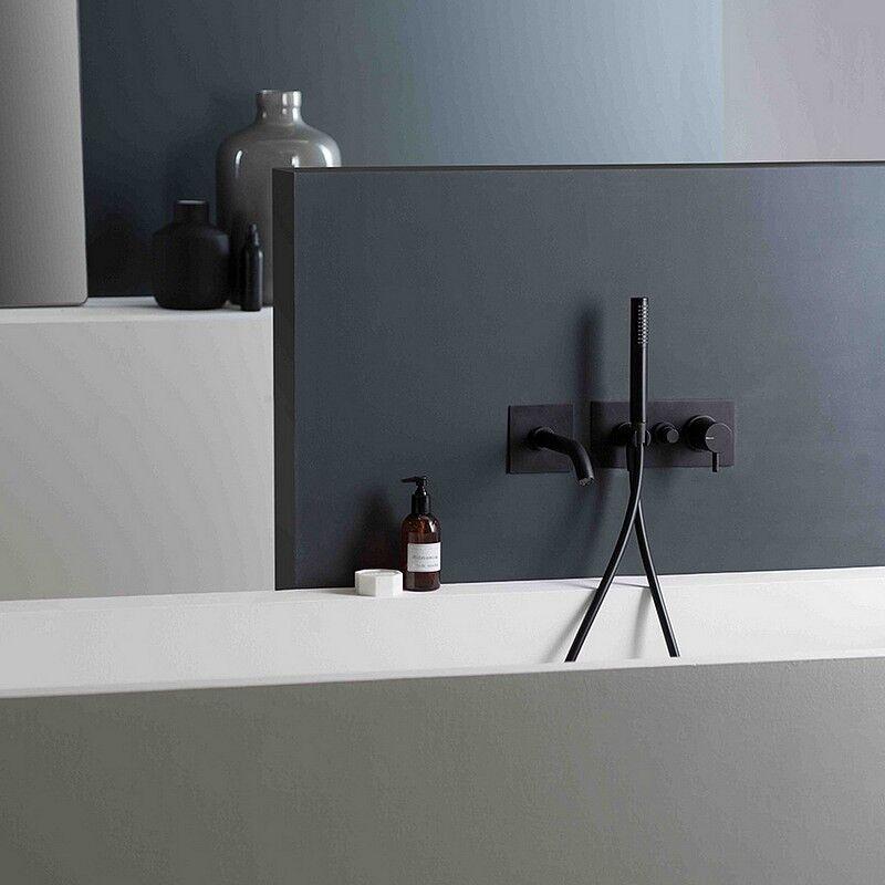 Ritmonio Mitigeur encastrable pour baignoire Diametro35 Noir