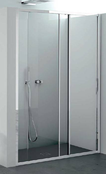 CSA Box Doccia Cabine de douche Giada Fs 120 ouverture porte coulissante MEASURE HEIGHT - crist