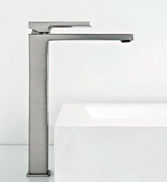 Zazzeri Mitigeur de lavabo avec extension Qquadro Inox