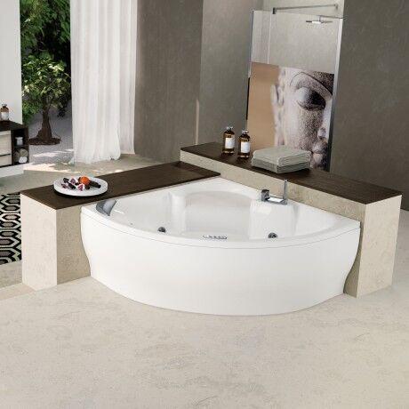 Novellini Sense 7 Z2 Tub sans Whirlpool - TAPS: SANS ROBINET - blanc: Blanc doux
