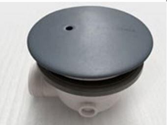 Flaminia Siphon anti-goutte avec couvercle en céramique Flaminia - Gris de lave