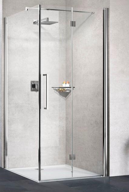 Novellini Young 2.0 2GS + F 72x90 Boîte de douche ouverture 1 porte à soufflet + fixe - bl