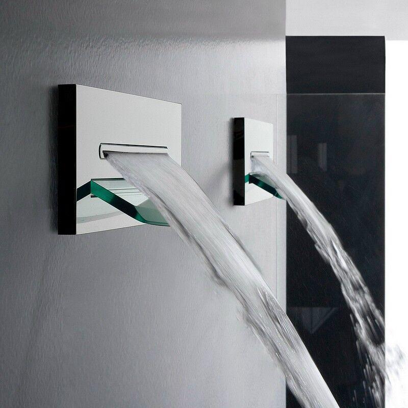 Zazzeri Chute d'eau mur Shirò - brossé