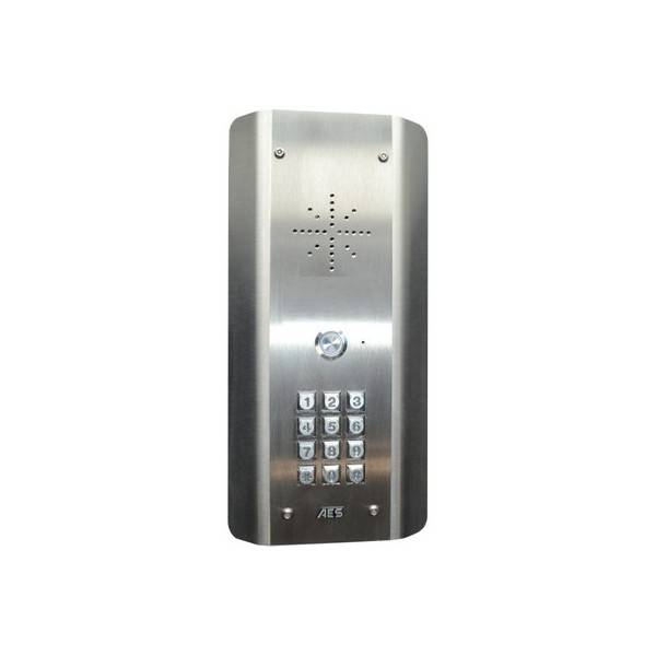 AES GLOBAL Interphone GSM 4G - ouvre porte et portail - Compatible smartphone