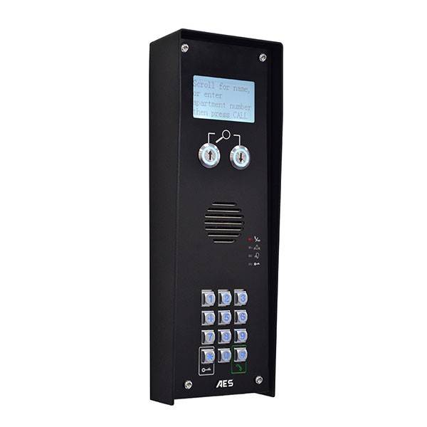 AES GLOBAL Interphone GSM - sans fil 3G 4G - pour immeuble collectif 250 logements