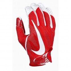 Nike Gant de football américain Nike vapor Knit pour receveur rouge