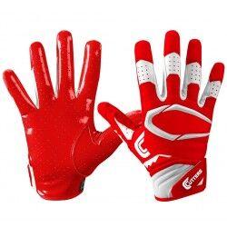 Cutters Gant de football américain Cutters S451 REV Pro 2.0 rouge pour junior