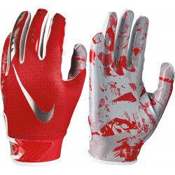 Nike Gant de football américain pour junior Nike vapor Jet 5.0 Rouge pour receveur