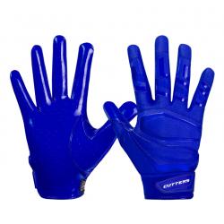 Cutters Gant de football américain Cutters S452 Rev Pro 3.0 Solid Bleu pour receveur