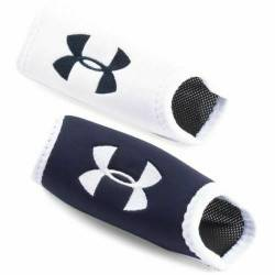 Under Armour Chin pad 2 pack Blanc / Navy