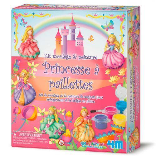 4M Coffret de moulage et peinture - Princesses
