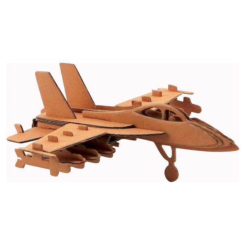Graine Cr Maquette d'avion en carton 17,5 x 16,5 x 6 cm