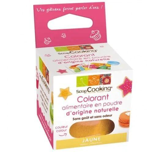 ScrapCooking Colorant alimentaire naturel - Jaune