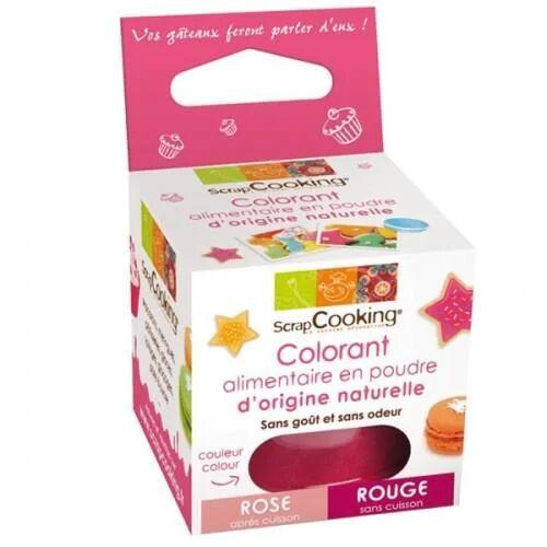 ScrapCooking Colorant alimentaire naturel Rouge-rose