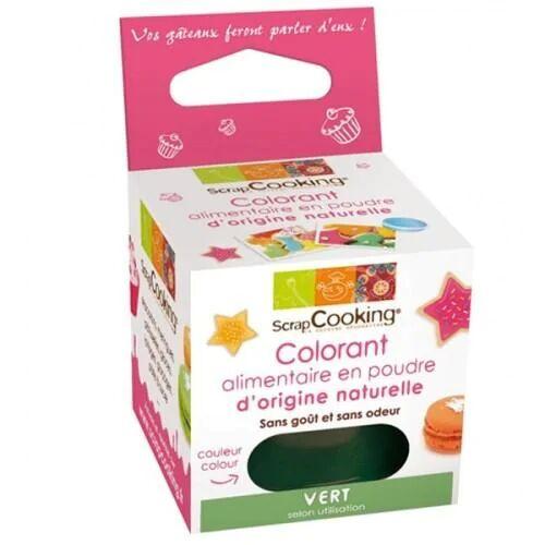 ScrapCooking Colorant alimentaire naturel Vert