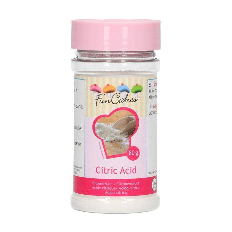FunCakes Acide citrique - 80 g