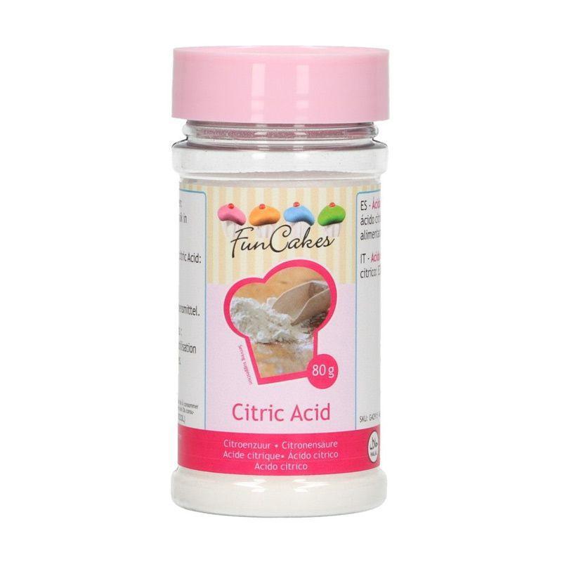FunCakes Acide citrique - 80 g