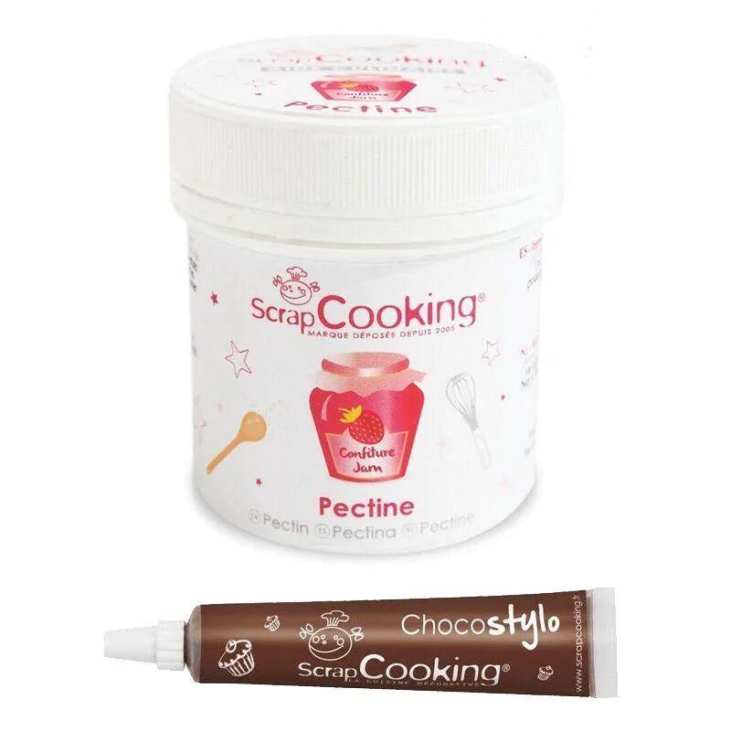 ScrapCooking Pectine en poudre + Stylo chocolat