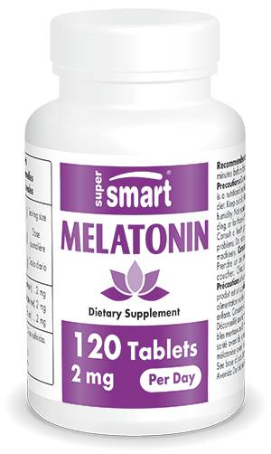 SuperSmart Melatonin 1 mg