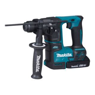 Makita Marteau perforateur sans fil Makita SDS-PLUS 18 V / 2,0 Ah, 2 batteries + chargeur dans MAKPAC DHR171RAJ