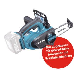 Makita Tronçonneuse sans fil Makita Top Handle 18 V DUC122Z, version solo