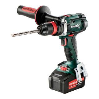 Metabo Perceuse-visseuse sans fil BS 18 LTX Quick (602193500); Coffret; 18V 2x4Ah Li-Ion + ASC 55