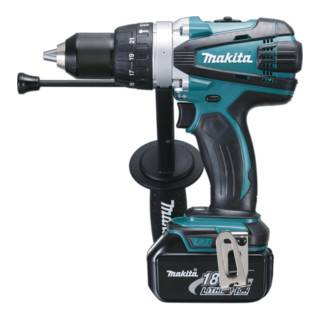 Makita Perceuse-visseuse à percussion sans fil 18 V/3,0 Ah DHP458RFJ