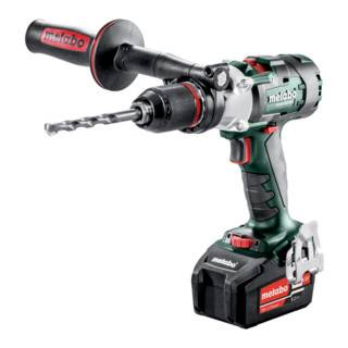 Metabo Perceuse à percussion sans fil à 3 vitesses SB 18 LTX-3 BL I (602356650); Coffret; 18V 2x5.2Ah Li-Ion + ASC 55