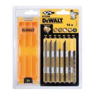 DeWalt Jeu de lames de scie sauteuse DeWalt XPC (14 pièces) DT2298-QZ